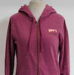Women's Patagonia full zip up hoodie.